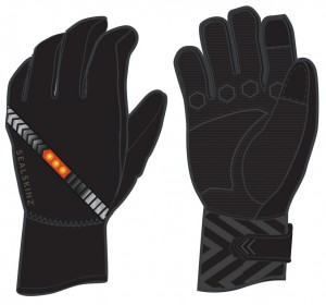 SealSkinz cykelhandsker Halo All Weather Cycle black size M (9) | Gloves