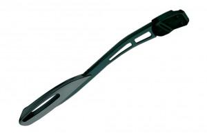 """ESGE/PLETSCHER støtteben 28"""" Pletscher Comp Zoom, black, length-adjustable   Stands"""