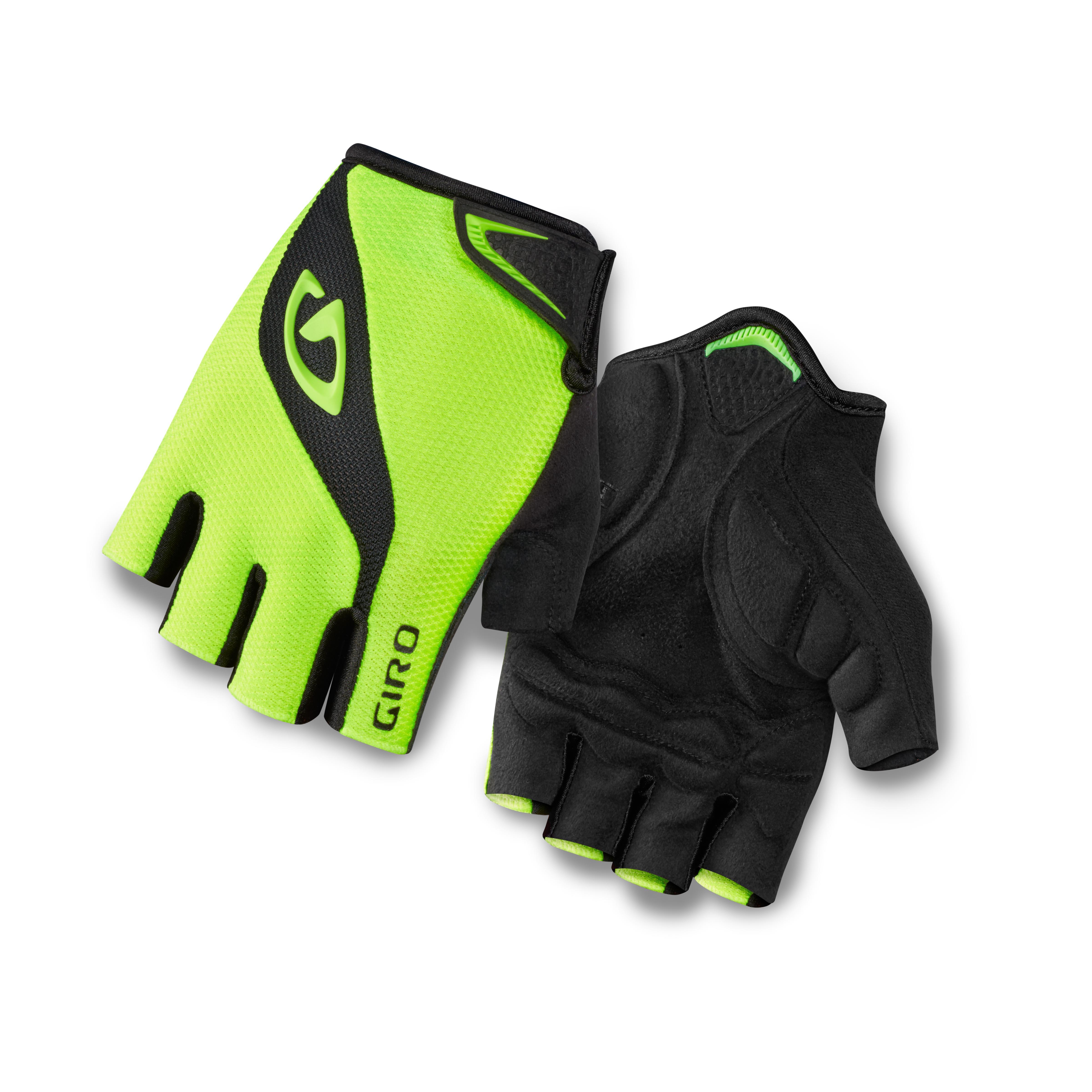 Giro Softgoods Handske Bravo Fluo Gul/Sort XXL NEON GUL XXL | Gloves