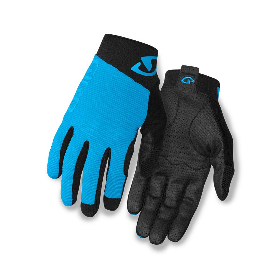 Giro Softgoods Handske Rivet II Blå/Sort L MTB Dirt langfingret BLÅ L | Gloves