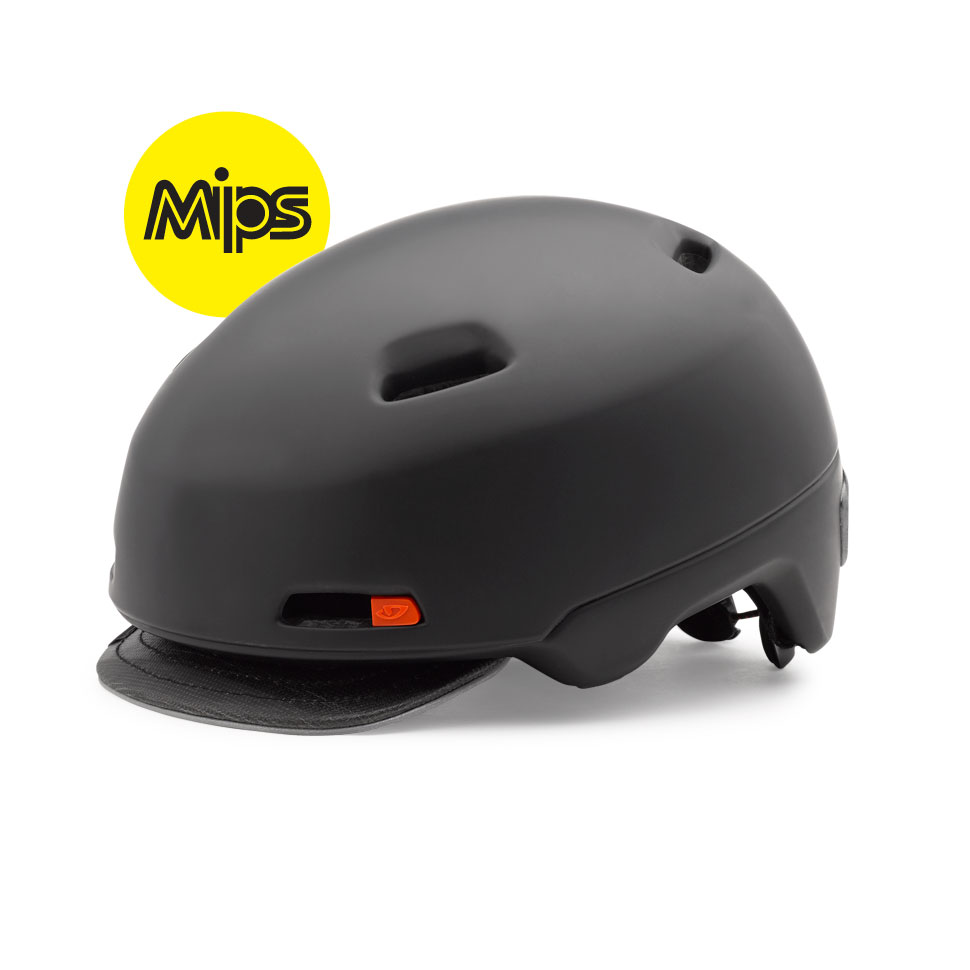 Giro cykelhjelm Sutton MIPS Mat Sort L/59-63Cm MATSORT L/59-63CM | Hjelme