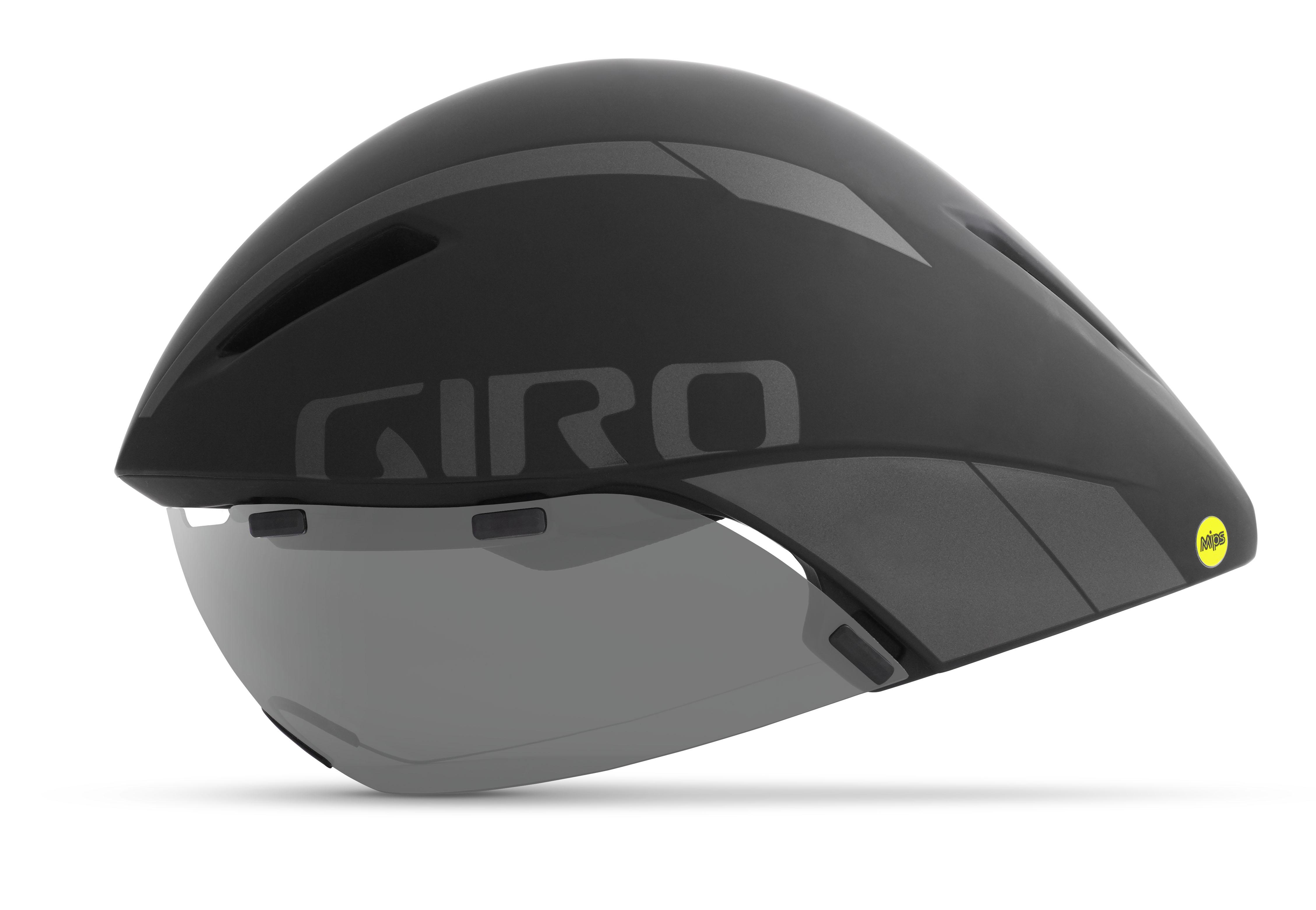 Giro cykelhjelm Aerohead MIPS Sort Sort L/59-63CM SORT L 59-63 CM | Hjelme