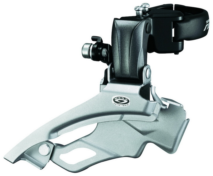 Forskifter Shimano Deore 10 x3 Down Swing 28,6/31,8/34,9mm IFDM611X6L 42 td. | Front derailleur