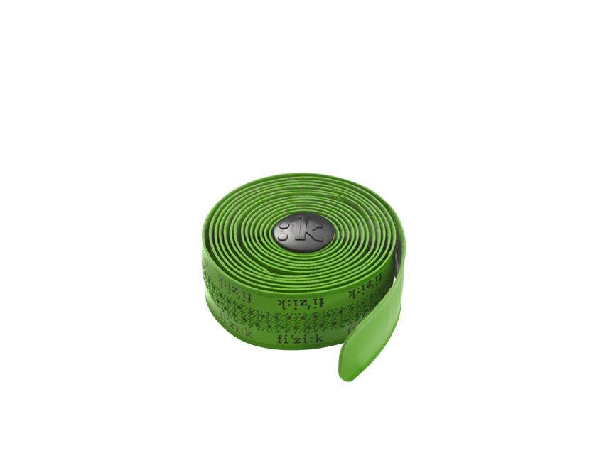 Fizik Styrbånd Superlight Tacky Fluo Grøn med logo NEON GRØN   Bar tape