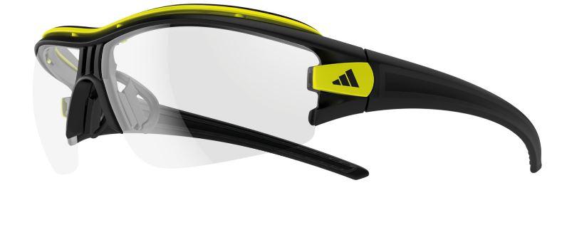 ADIDAS sportsbriller Evil Eye black matt/glow, Vario Gläser | Glasses