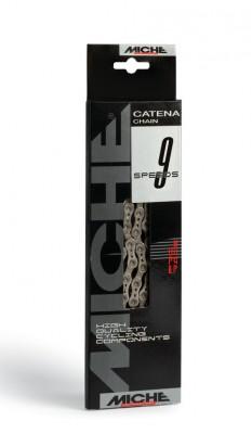 "Miche kæde 9-speed 1/2 x 3/32"", 116 links,6,70mm | Chains"