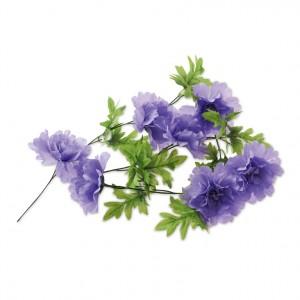 Garland of flowers Peony Flower lavender for cykelkurv | Bike baskets