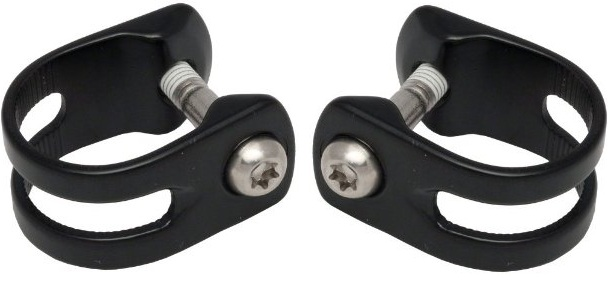 AVID Discrete bar clamp, black lever For XX WorldcupIncl. Titanium bolt T25, Pack of 2 pcs. | nuts_and_bolts_component