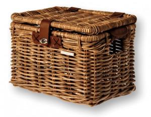 Basil cykelkurv til bagagebærere Denton M 35x26x26 cm brown rattan | Bike baskets