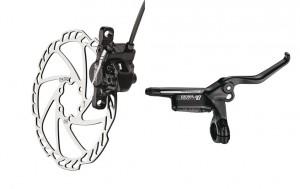 Tektro skivebremse sæt Draco FW, Ø 180 mm, black, 800 mm | Brake calipers
