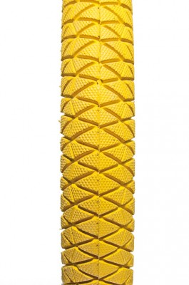 """Tyre 20"""" x 1.95"""" yellow 2053 for unicycle 