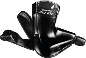 Shimano skiftegreb Shimano Alfine SL S7000-8 8-gear, 2100mm, black, Rapidfire | Gear levers