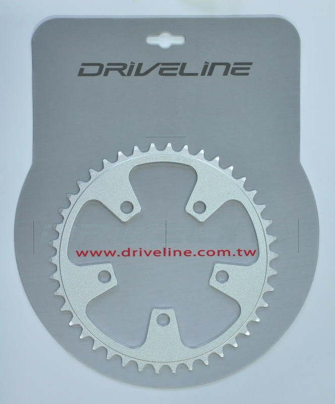 Driveline klinge 42T Alu Sølv ø94 5hul 9/10sp 5182 alu | chainrings_component