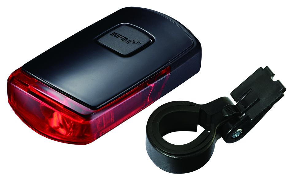 Abus Baglygte Vista I-411RD sort   Rear lights
