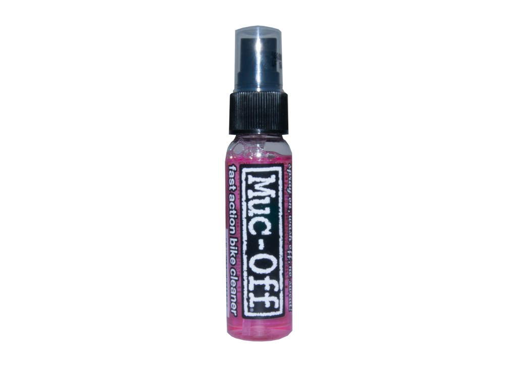 MUC-OFF Bike cleaner, Sample 32 mlFor cleaning bikes, bike parts and surfaces incl. carbon fibre, Removes dirt, sand, road film, mud and oily | polish_and_lubricant_component