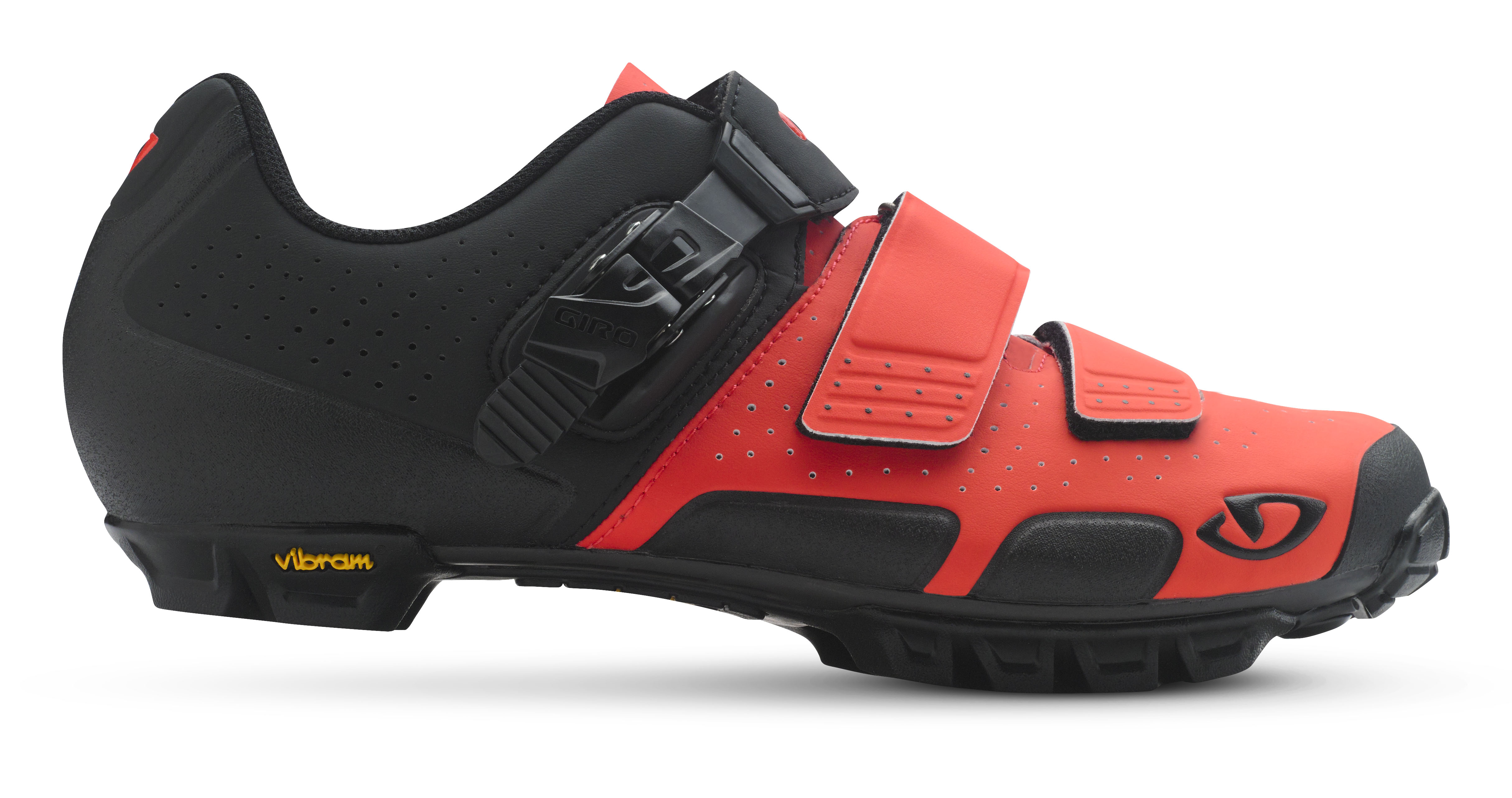 Giro cykelsko Code VR70 Ver/So 45 Vermillion/Sort VERMILLION 45 | Shoes and overlays
