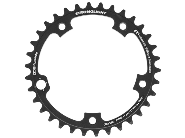 Stronglight klinge Road 34T Ø110 mm 11 speed CT2 Zicral2nd pos., Campagnolo EPS, Ultra Torque Super Record, Record, Chorus, Athena | chainrings_component