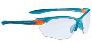 Alpina cykelbriller Alpina Twist Four VL+ Blu-matt/org, glass Varioflex blk | Glasses