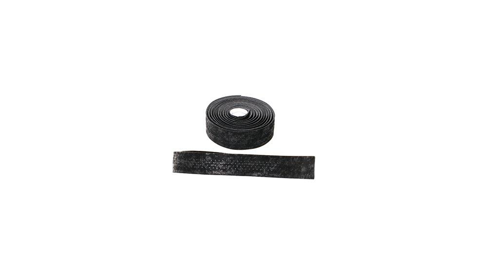 CONTEC styrbånd Ultra 2K høj kvalitet mikrofiber styrbånd med ultra blød overflade, en PU coating på undersiden af reduceret tryk, og vibrationer betydeligt, meget elastiske, optimalt greb, vaskbare, inkl. 2 bar stikpropper og klæbestrimler   Bar tape