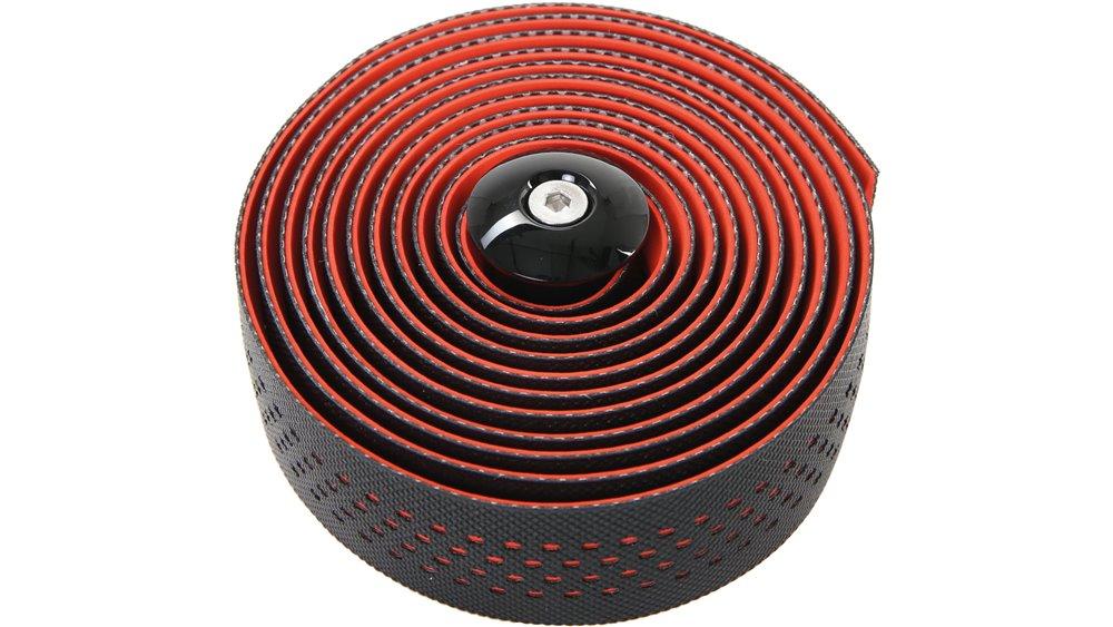 CONTEC styrbånd Goo D2 høj kvalitet dual density D2 styrbånd, med anti-slip overflade, en speciel polyurethan belægning på undersiden af reduceret tryk, og vibrationer endnu bedre med godt greb, inkl. 2 styret plugs med Konusklemmung og klæ   Bar tape