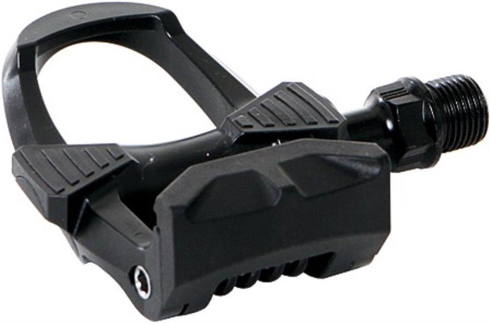 CONTEC klamper / Klamper separationssystem Pedal Roadster plast, enkeltsidet, inkl. 7 ° (Look), delelig Boron stål aksel 9/16, speciel geometri for en mere naturlig bevægelse, mere strøm når pedalerne kugleleje, spænding justerbar frigivelse | Pedal cleats