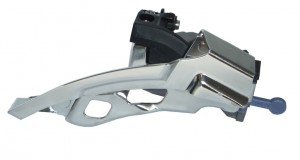 Shimano forskifter LX Top-Swing 31,8 mm,silv. FD-T 670 Dual Pull 66-69°, f. 44/48 Z. | Front derailleur