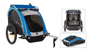 Burley cykeltrailer Encore Model 2016 blue | bike_trailers_component