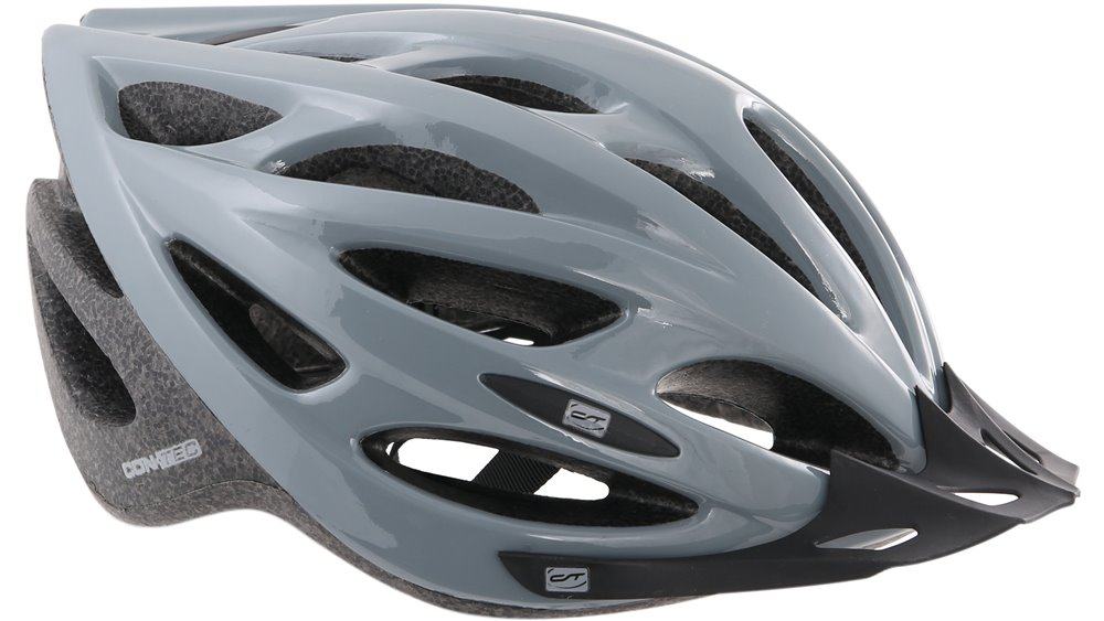 CONTEC hjelm Chili.25 alle formål hjelm til sport og hverdag Gr. L (58-61 cm), grau / schwarz   Helmets