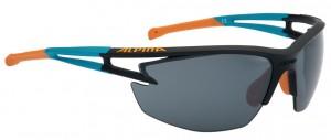 Alpina cykelbriller Alpina Eye-5 HR CM+ black matt/cyan/or. glass bk mirror.fog | Glasses