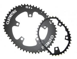 Osymetric klinge 110mm Standard for road bike 50/38 teeth black | chainrings_component