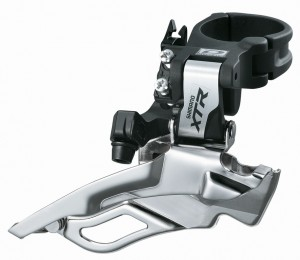 Shimano forskifter XTR Dual Pull 31,8 mm FD-M 981,Down Swing | Front derailleur