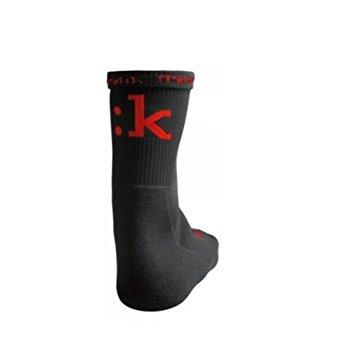 Fizik sokker Racing Winter Sort/Rød M-L (41-44) SORT M-L (41-44) | Socks