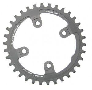 Stronglight Chain ring Stronglight MTB Sram 1x11 f. XX1 4-Arm 38Z w. thread blk HT³ | chainrings_component
