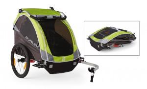 Burley cykeltrailer D`Lite Model 2016 green | bike_trailers_component