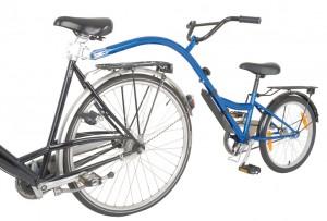 "Children bicycle-trailer Bike Trailer 20"" blue RH 28 cm | bike_trailers_component"