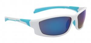 Alpina cykelbriller Alpina Fenno frame wht/cyan glass blue mirrored S3 | item_misc