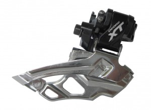 Shimano forskifter Deore XT Dual Pull 31,8 mm FD-mm 786X6L,Down-Swing 66-69°, black | Front derailleur