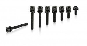 XLC screw bolt for Flat mount adapter M5x19mm, standard head, 2-Set | nuts_and_bolts_component