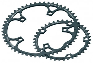 Stronglight chain ring ins.,39 sprockets,model 135C stronglight black | chainrings_component