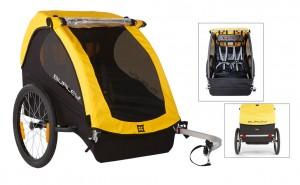 Burley cykeltrailer Bee Model 2016 yellow (only trailer) | bike_trailers_component
