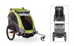 Burley cykeltrailer Solo Model 2016 green | bike_trailers_component
