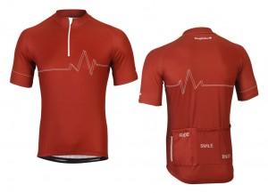Bergfieber jersey STELVIO burgundy size S | Jerseys