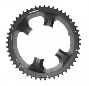Stronglight Chain ring Stronglight Type 105-110mm ext. 51 spr., black 11-s. | chainrings_component