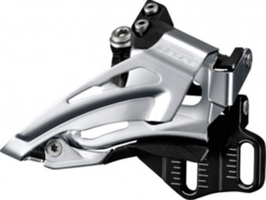 Shimano forskifter Deore Top Swing FD-M618E6X,Down Pull,66-69° BLK.E-Type | Front derailleur