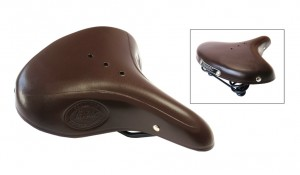 Lepper sadel Lepper Concorde Authentic Line brown, Women 810, 250x210x65mm, 860g | Saddles
