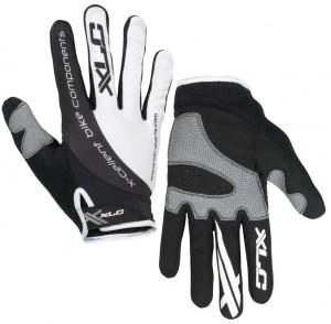 XLC cykelhandsker Mercury CG-L04 white/black Size S | Gloves