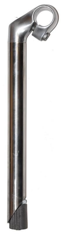 Styrstamme Sølv Alu inox 50mm/300mm ø25,4mm - styr 25,4mm   Handlebars