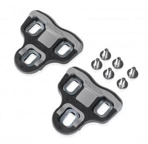 XLC set of klamper PD-X05 fits XLC Look-Pedals, 0°, black | Pedal cleats