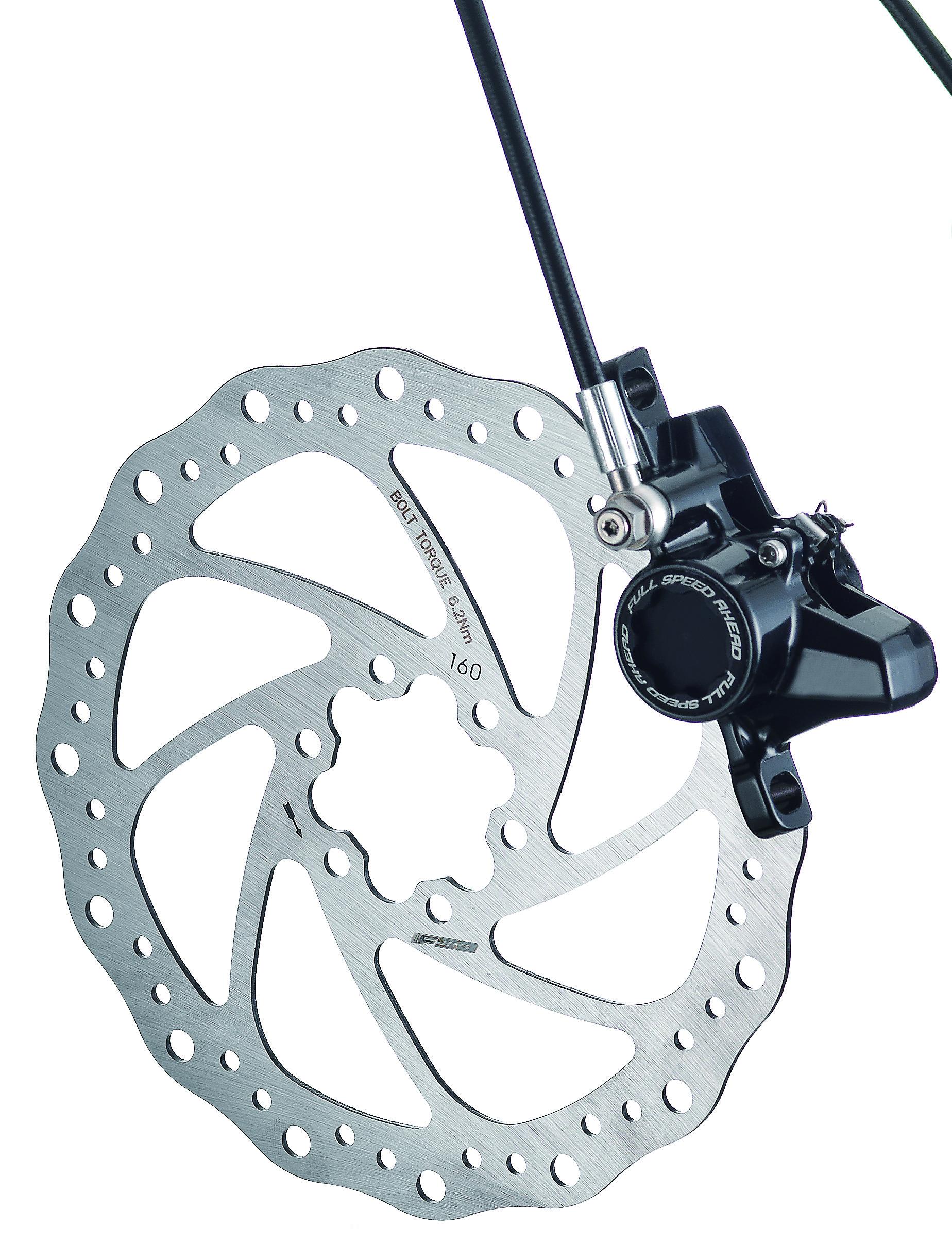 FSA Skivebremsesæt AFTERBURNER XC-9150 Sort SORT | Brake calipers