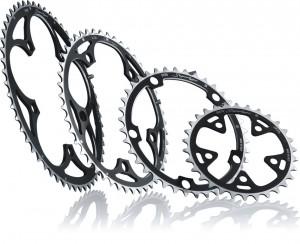 Miche klinge Supertype BCD 130SH outside 50 d. silver 9/10 v. Shimano | chainrings_component